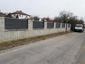 Hliníkové ploty lamely vodorovné