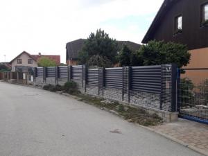 Segabion - gabionový plot